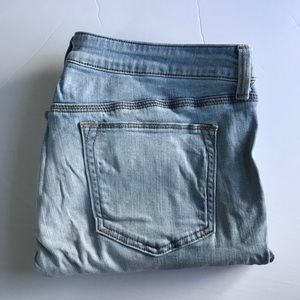 JCP Light Wash Skinny Ankle Jeans